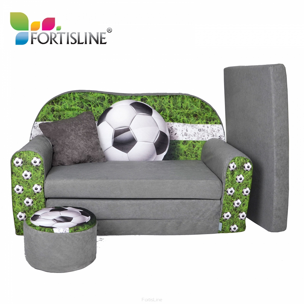 kindersofa zum aufklappen football. Black Bedroom Furniture Sets. Home Design Ideas