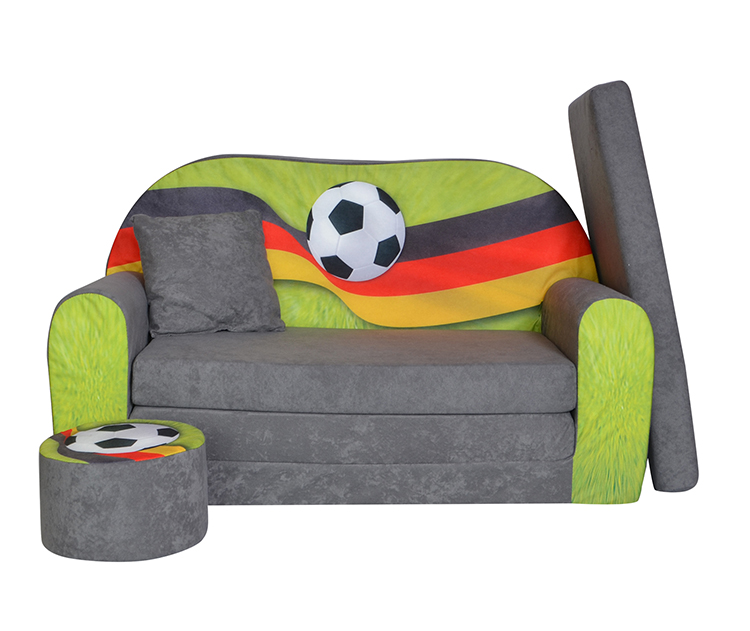 kindersofa zum aufklappen fanzone football de. Black Bedroom Furniture Sets. Home Design Ideas