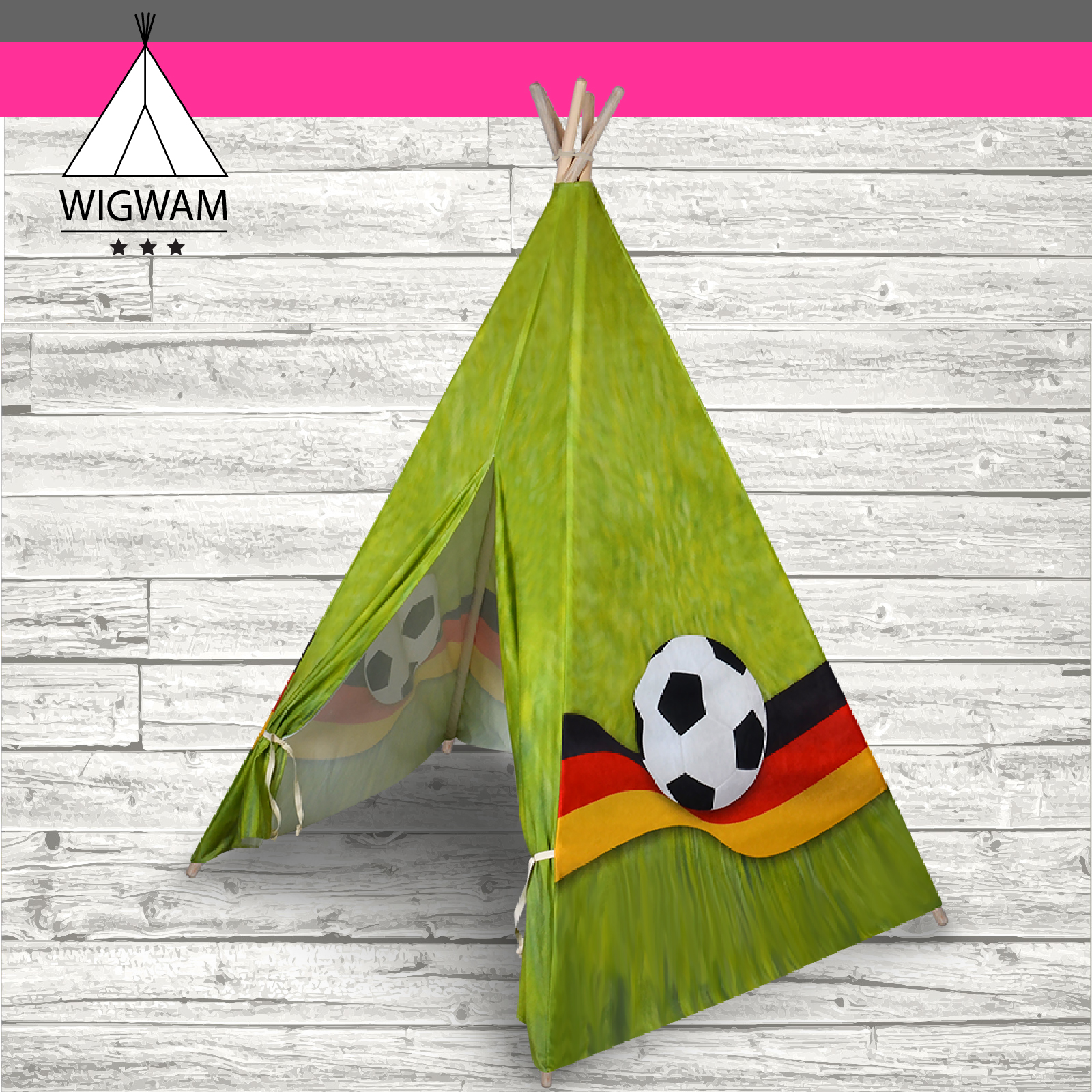 indianerzelt spielzelt wigwam kinderzelt kinder zelt f r drinnen und drau en ebay. Black Bedroom Furniture Sets. Home Design Ideas