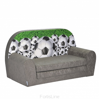 Kindersofa MINI Kindercouch W386_40 Football 3