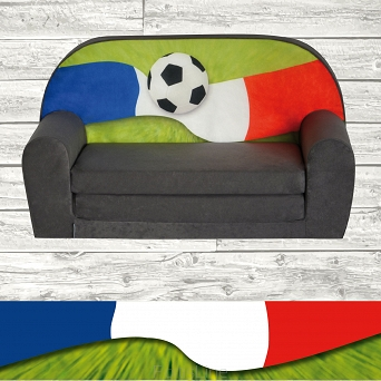 Kindersofa MINI Kindercouch W386_18 FANZONE Football FR