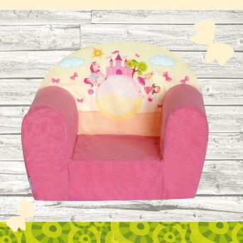 Kindersessel MINI Sessel Pink Castle W387_09