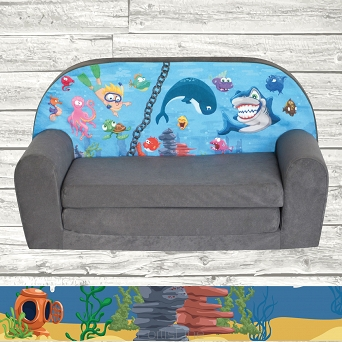 Kindersofa MINI Kindercouch W386_11 Ocean II