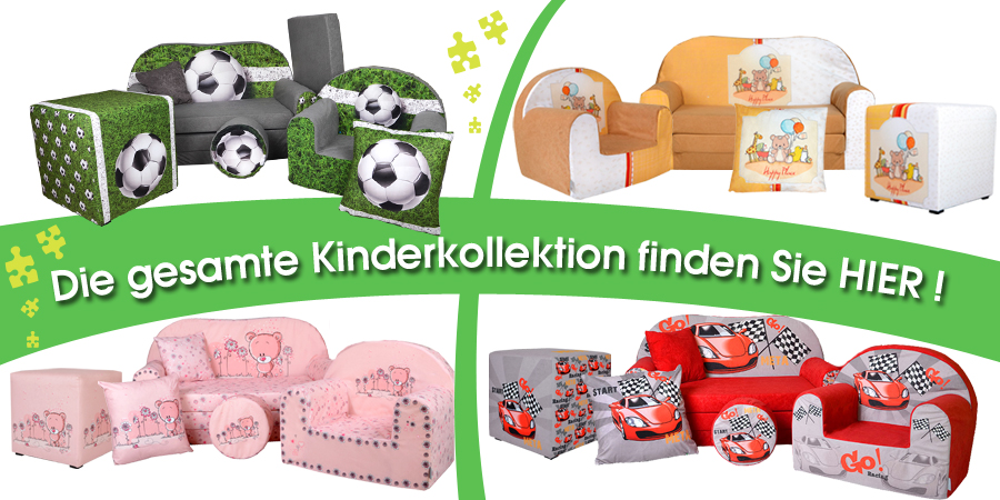 kindersofa sofa kinderzimmersofa zum aufklappen mit bettfunktion pik fortisline ebay. Black Bedroom Furniture Sets. Home Design Ideas